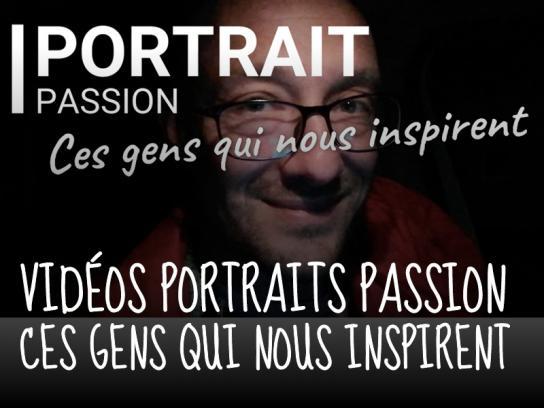 Portraits passion Lien vers: https://criemouscron.be/?PortraitsPassion