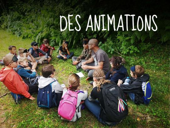 Des animations