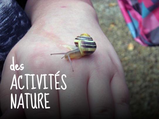 des activités nature