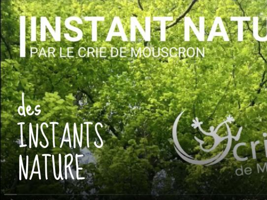 des instants nature